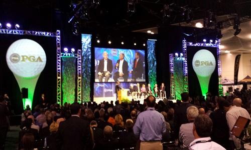 Les conventions et séminaires sont lancées au PGA Merchandise Show