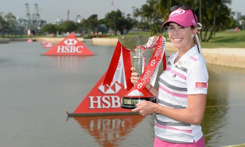 Paula Creamer remporte le HSBC Womens Champions