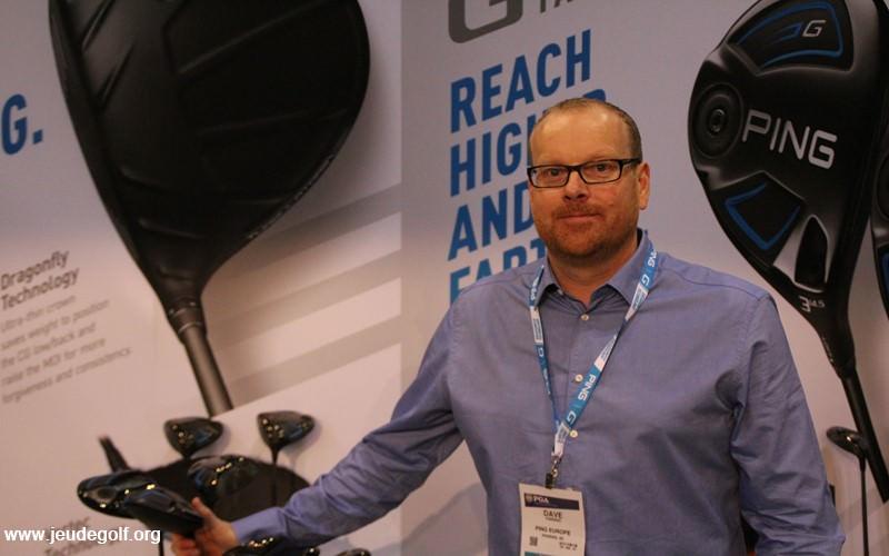 Dave Fanning – Directeur Marketing Europe PING - présente la série G