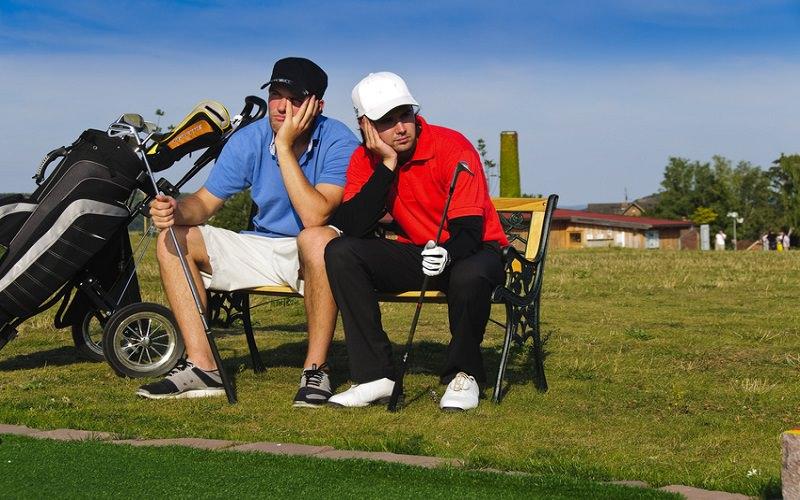 La déprime golfique affecte un jour ou l'autre tous les golfeurs