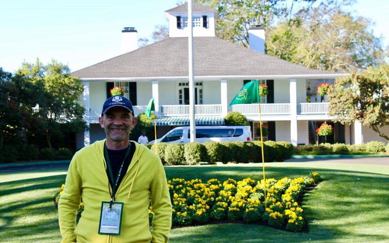 Nicolas Destrumelle: Un spectateur français au Masters d'Augusta 2017