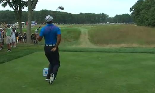 Barclays : Tiger Woods souffre du dos et de son putting, mais se maintient dans le top-10
