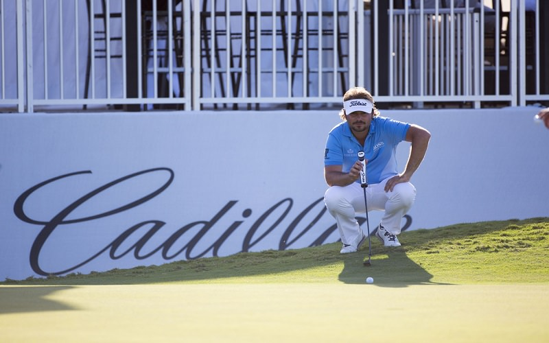 Victor Dubuisson s'attaque au Blue Monster