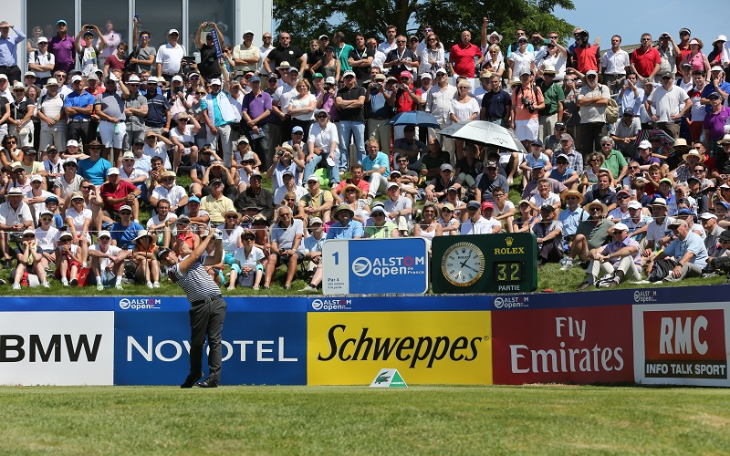 Dubuisson déplace les foules ASO/Presse Sports/S.Thomas