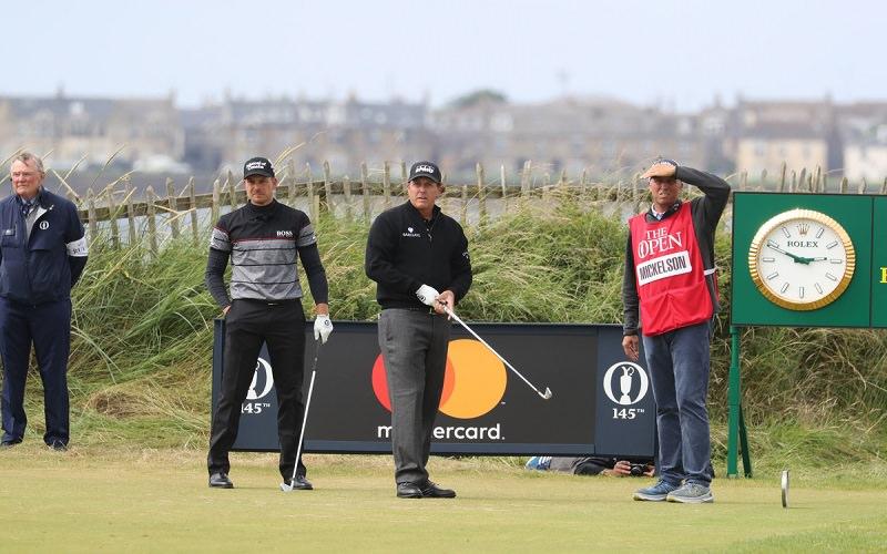 Duel sous le ciel écossais entre Stenson et Mickelson, les deux meilleurs golfeurs du monde sur des links