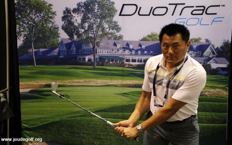 Duo Trac : 4 capteurs pour saisir 4 étapes clés de votre swing !