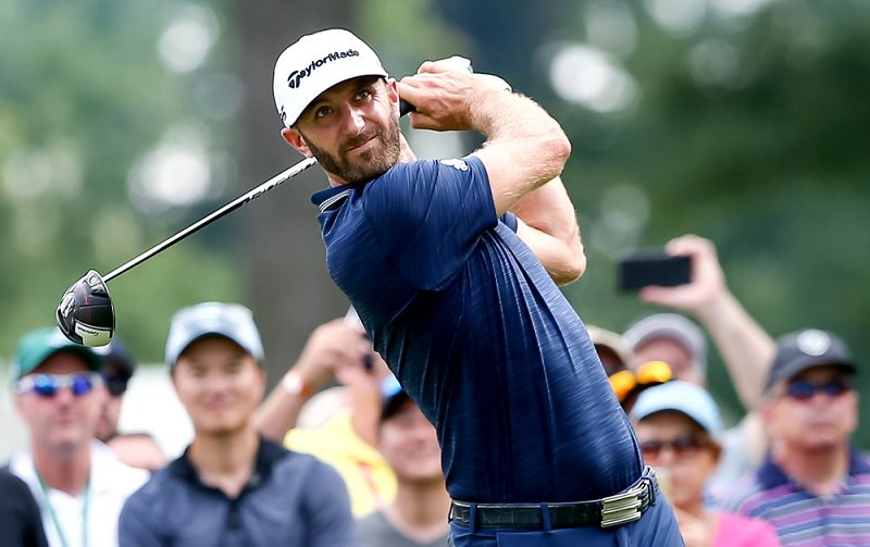 Dustin Johnson : Champion du monde du power fade à Mexico