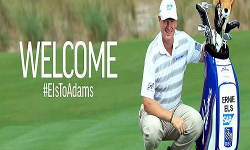 Adams Golf- Ernie Els: Big Easy à la recherche de clubs plus easy