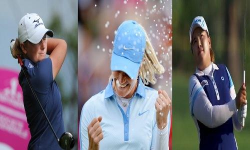 Trois golfeuses pour une place de numéro 1