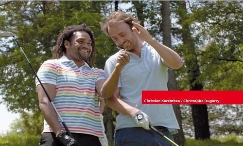 Christophe Dugarry et Christian Karembeu : Champions du monde 1998 de football réunit par leurs passions pour le golf