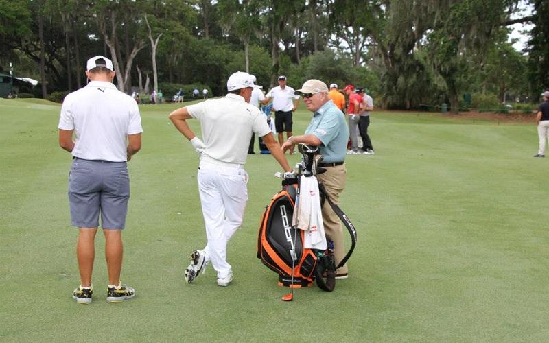 Fowler en compagnie de Butch Harmon à Sawgrass! @Cobra