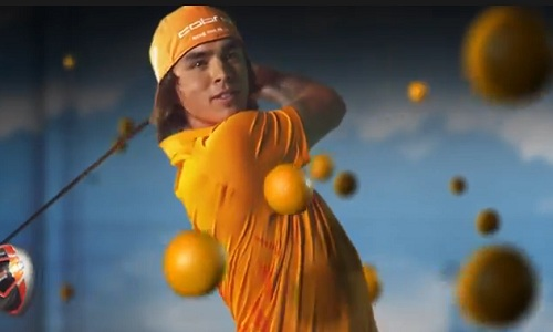 Rickie Fowler et l'orange : un marketing soigné