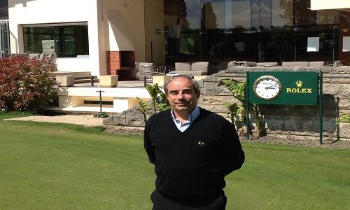 Frédéric Barba, directeur du golf club de Lyon