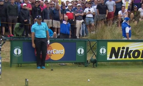 Garcia, encore battu sur The Open Championship !
