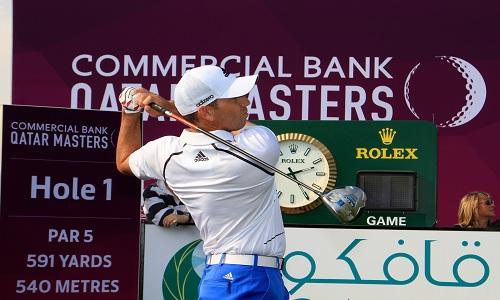 Sergio Garcia au Qatar Masters 2014