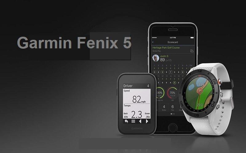 La Montre Garmin Fenix 5 est-elle vraiment pertinente pour les golfeurs ?