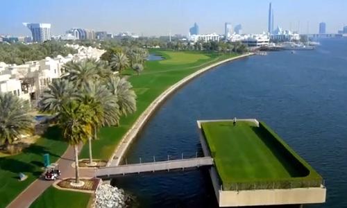 Jouer au golf à Dubai