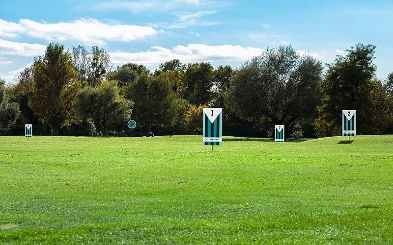 Zone d'entraînement, practice du golf du Fort