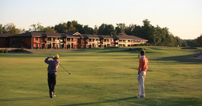 Ce qui est intéressant pour un directeur de golf, c'est de développer la valeur patrimoniale du complexe