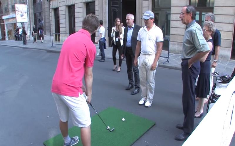 Démocratisation du golf en France: La conquête des centre-villes Crédit NGG GOLF -AFFA productions