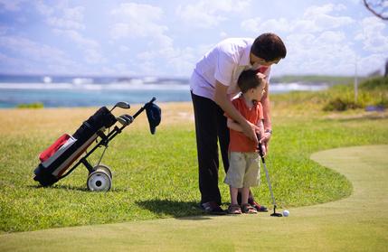 La solution : Jouer au golf avec ses enfants ?