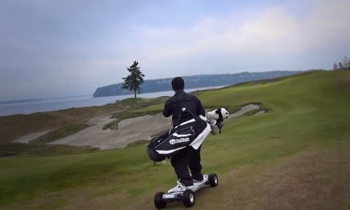 Golfboard: Surfez sur les parcours de golf !