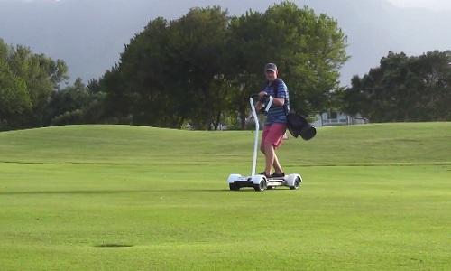 Plus qu'un moyen de transport, une opportunité de changer l'image du golf