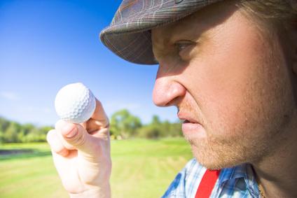 Les golfeurs sont-ils frustrés par la difficulté ?