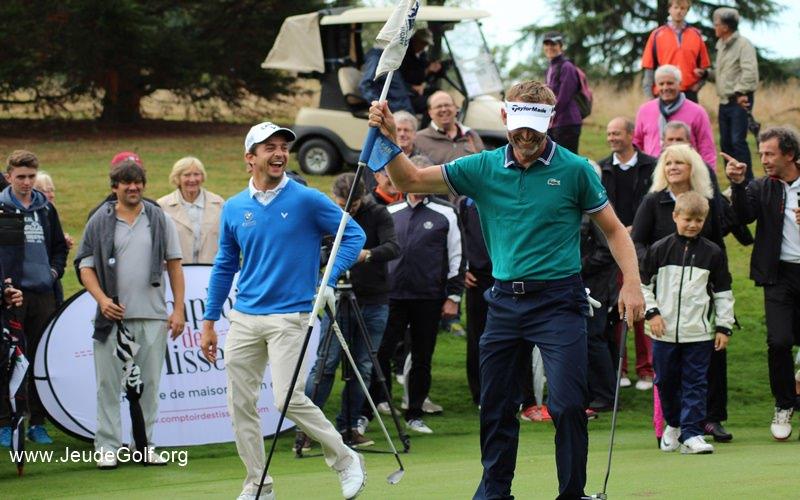 Qu'est ce qui rend un golfeur heureux sur un parcours ?
