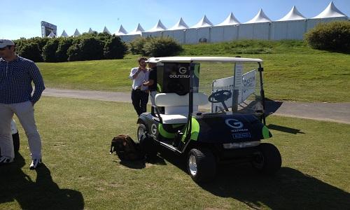 Nouvelle technologie : voiturette Golfstream