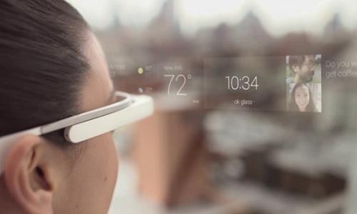 Le principe des Google Glass