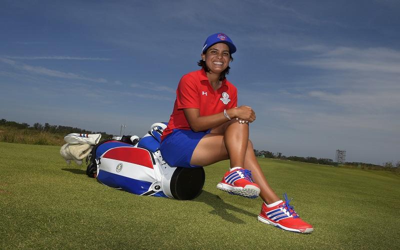 Julietta Granada, star dans son pays et désormais porte-drapeau !
