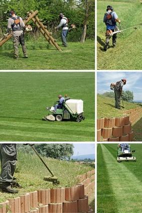le travail du greenkeeper