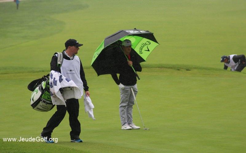 Il s'agit du gaucher Cody Gribble, déjà vainqueur sur le PGA Tour cette saison lors du Sanderson Farms Championship