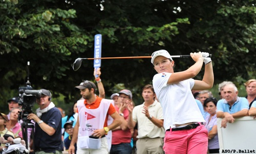 Lacoste Ladies Open de France 2015: Gwladys se place!