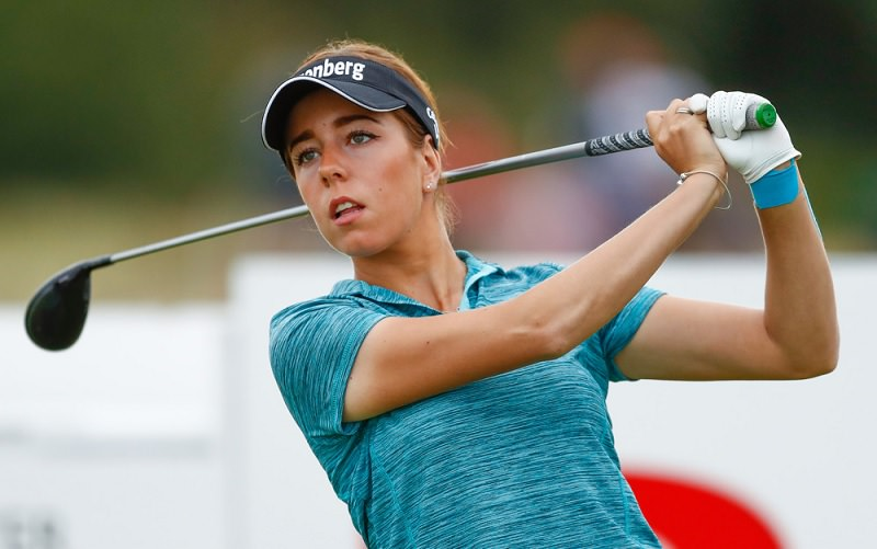 Women's British Open: Georgia Hall porte plus que les espoirs de son pays
