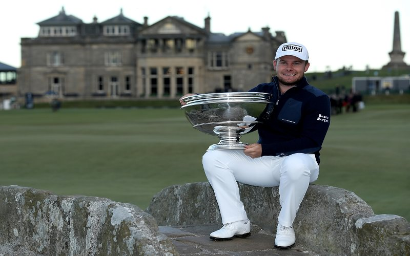 Tyrell Hatton vainqueur du Alfred Dunhill Championship 2016 - Getty Images