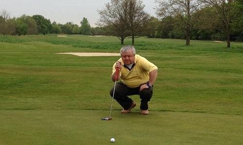 Hugues Fournier, directeur du golf du Gouverneur