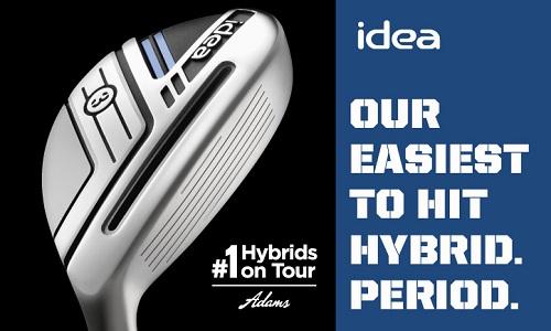 Adams Golf s'impose concernant les hybrides