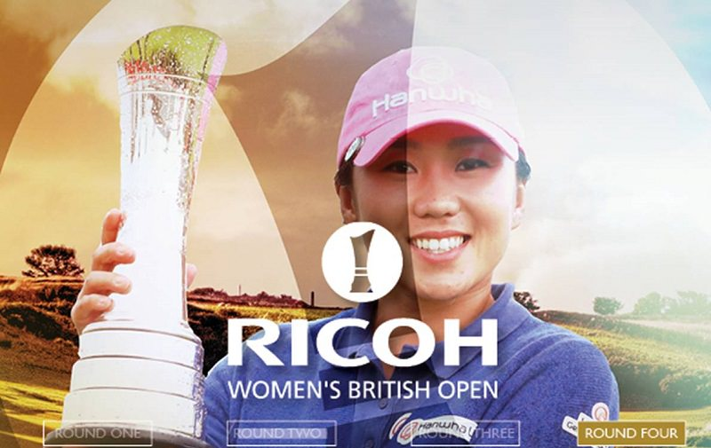 IK Kim remporte le Ricoh Women's British Open 2017 avec Axel Bettan comme cadet