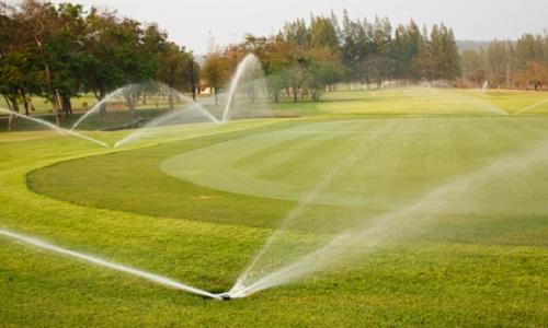gestion de l'arrosage sur un parcours de golf