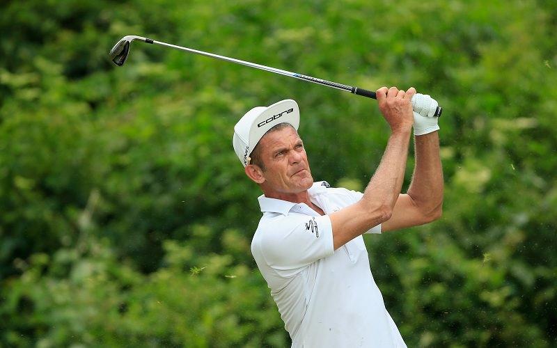 Jesper Parnevik, champion de golf, senior, suédois, et acteur (crédit photo ; Cobra golf)