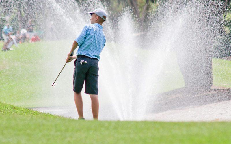 Jeunes golfeurs…N'oubliez pas de prendre du plaisir !