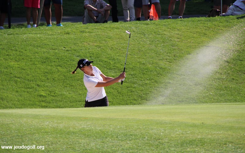 Karine Icher leader du premier majeur de golf féminin de l'année !