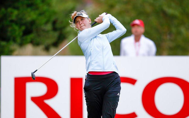 A 25 ans, Jessica Korda semble résigner à devoir lutter comme elle peut contre une déferlante de joueuses sud-coréennes.