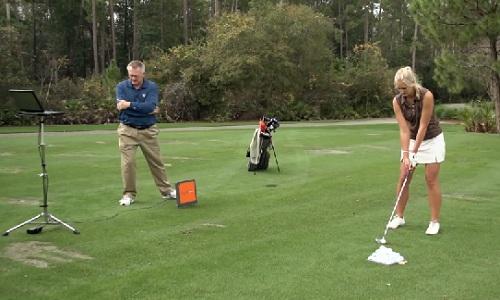 L'utilisation d'un radar de mesure dans l'enseignement du golf