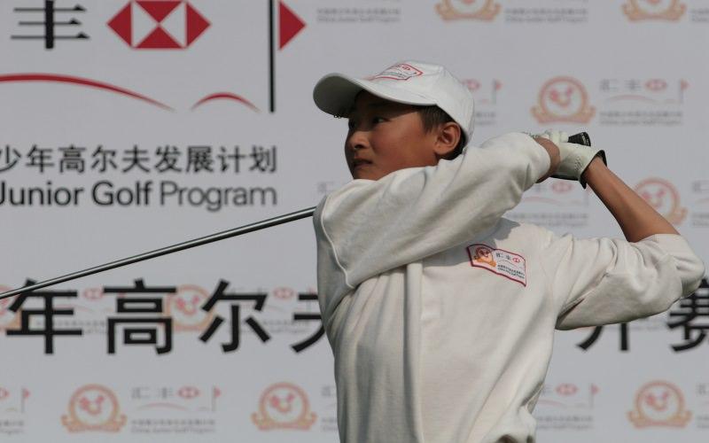 Les Chinois plus fort que les français au golf ?