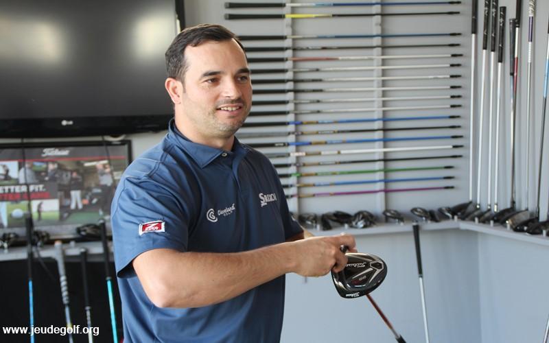 Le double-métier de Loïc Monchalin: Clubmaker sur le tour et clubffiter pour les amateurs