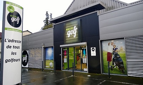 Le magasin Rue du golf à Pau