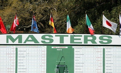 L'ombre de Tiger Woods plane sur le leaderboard du Masters